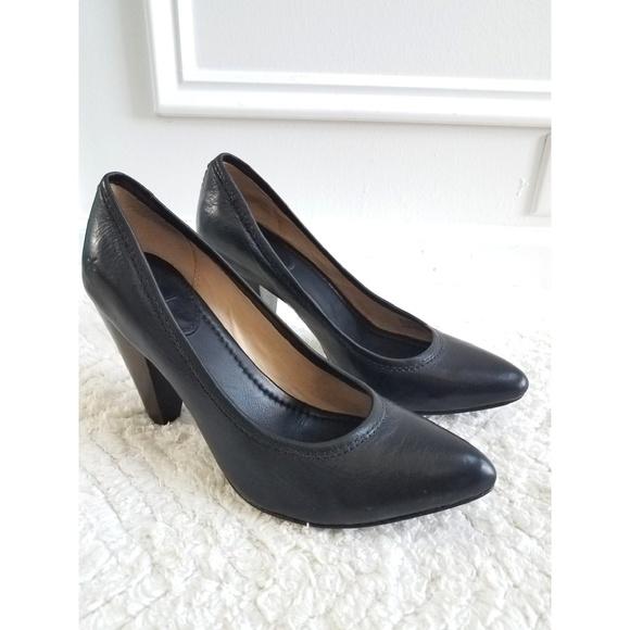 a860aff958 Frye Shoes | Regina Black Classic Pointed Toe Pumps | Poshmark